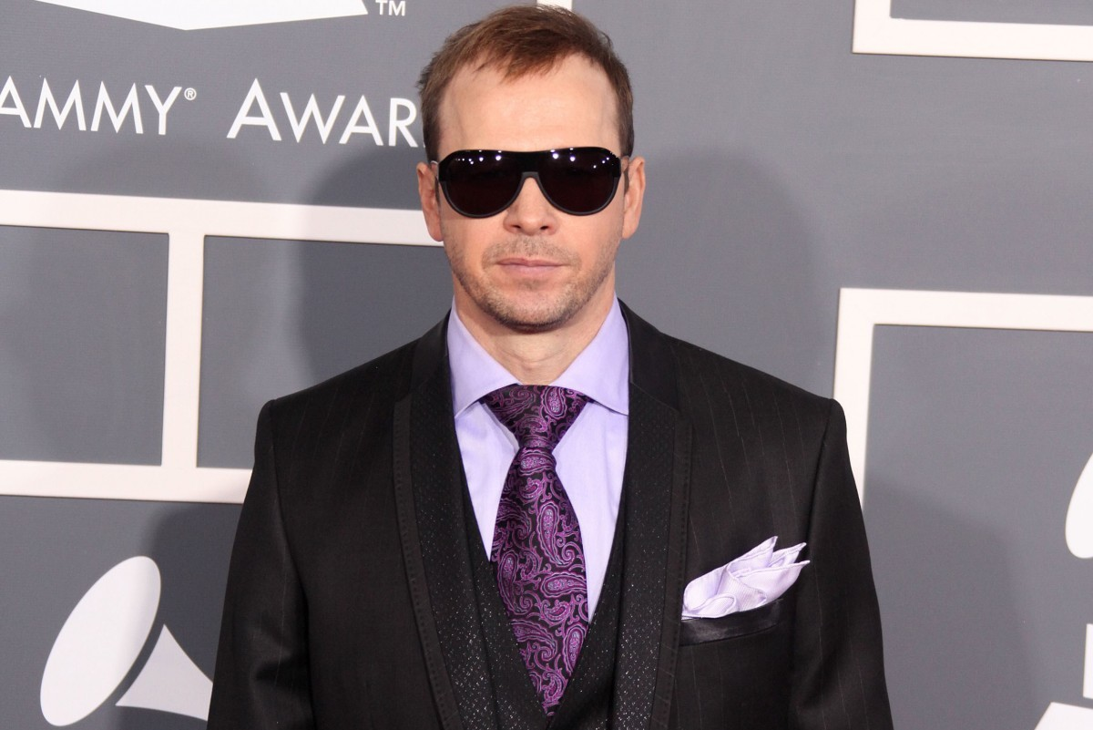 Donnie Wahlberg Photo by DFree / Shutterstock.com