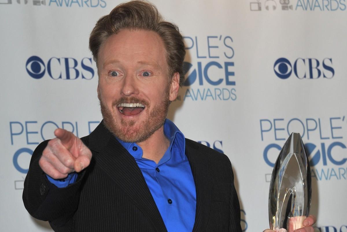 Conan O'Brien Photo by Featureflash / Shutterstock.com