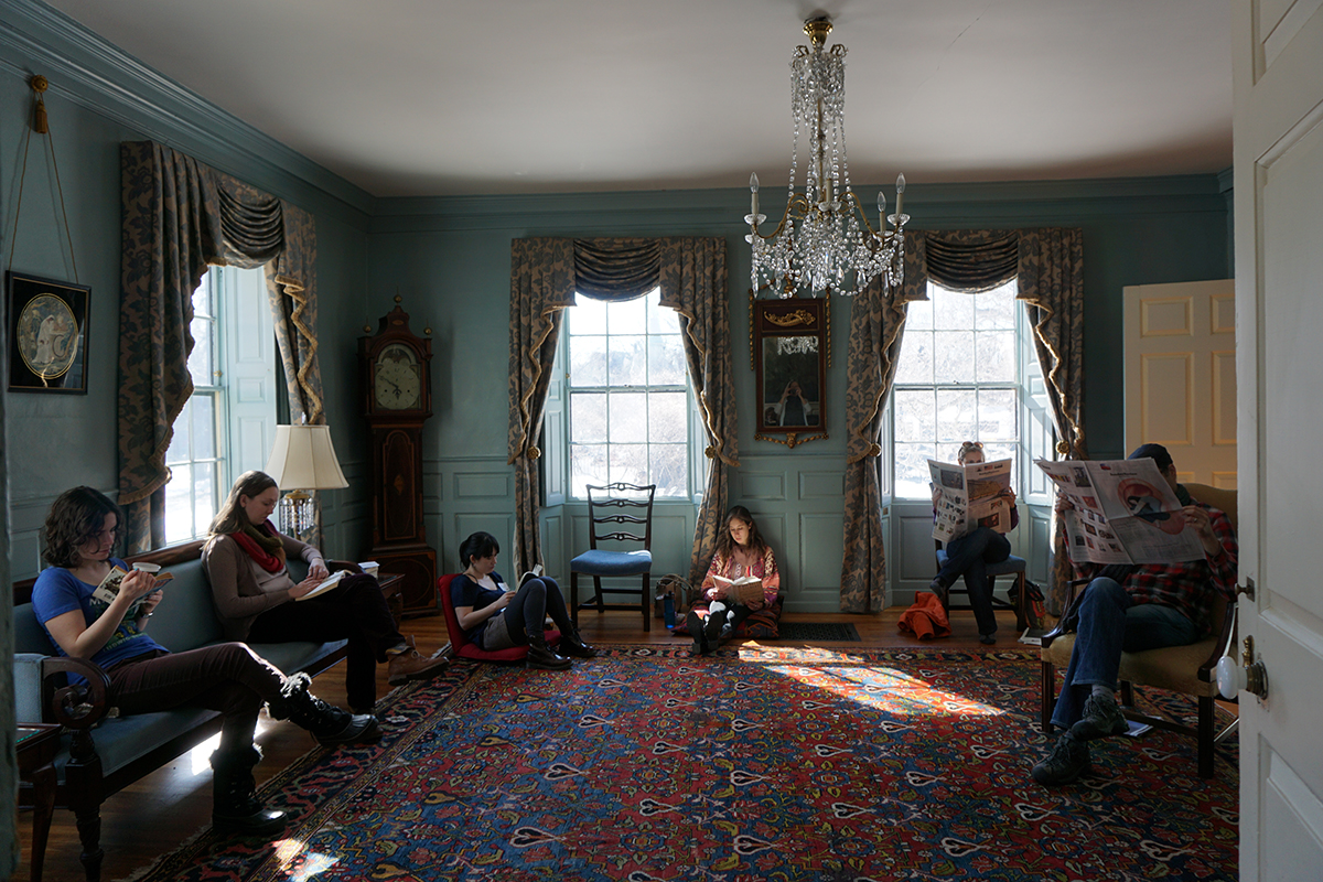 loring-greenough house silent reading