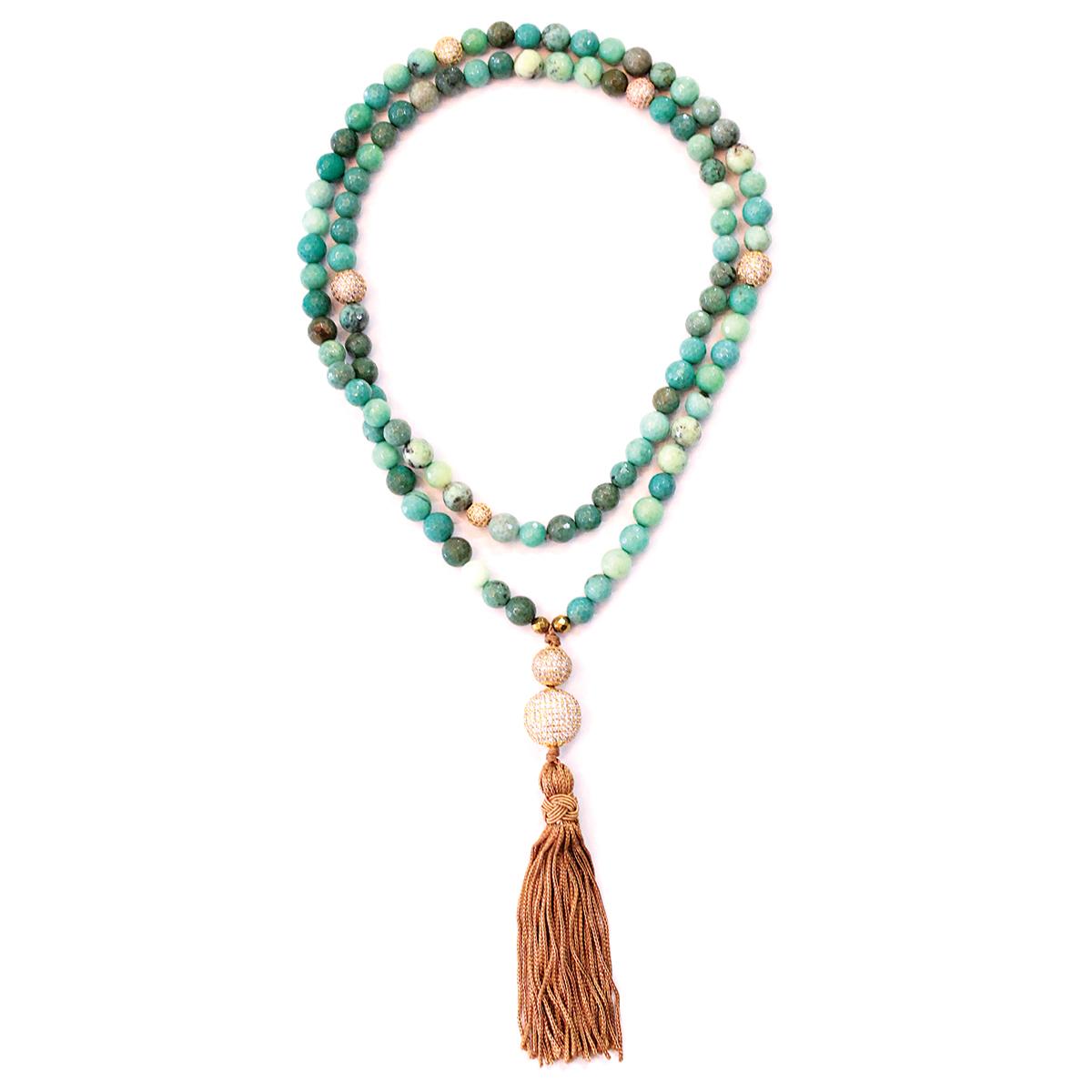 sisco berluti marrakesh necklace fringe
