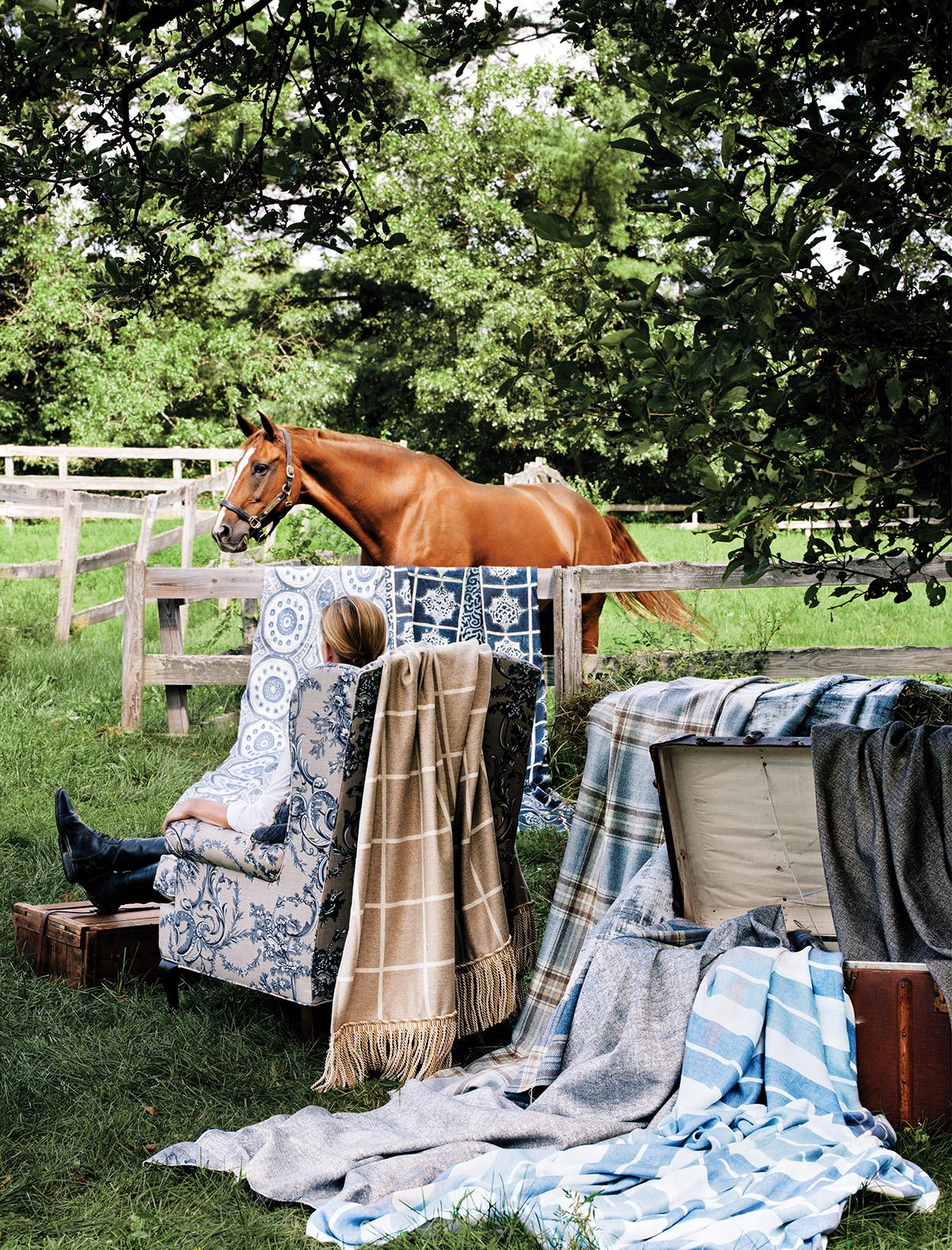 spring fabrics horses 4
