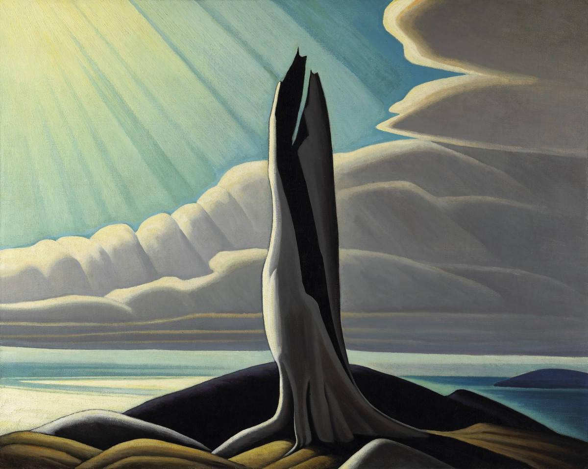 North Shore, Lake Superior Lawren Harris (Canadian, 1885–1970) 1926 Oil on canvas *National Gallery of Canada, Ottawa. Purchased 1930 * Photo © NGC *©Family of Lawren S. Harris *Courtesy Museum of Fine Arts, Boston