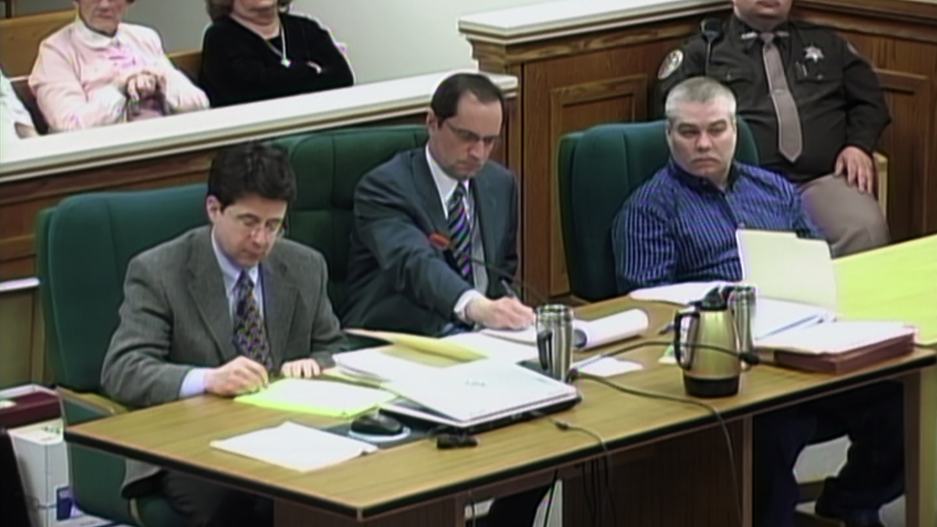 Dean Strang, Jerry Buting, and Steven Avery in 'Making a Murderer' Photo by Netflix