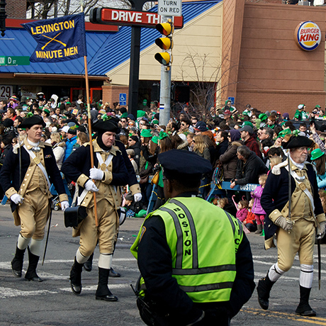Southie St. Patrick's Day Parade sq