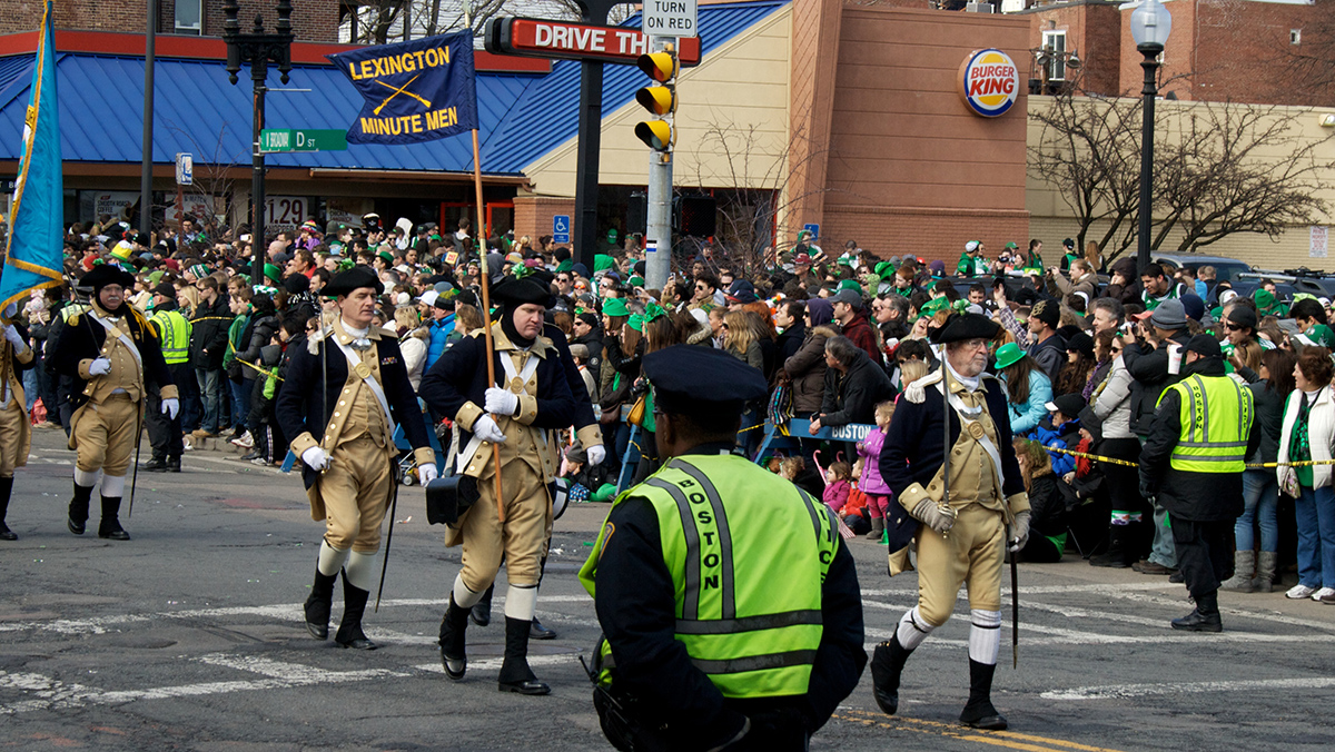 Boston S St Patrick S Day Parade Route Shortened For 2016