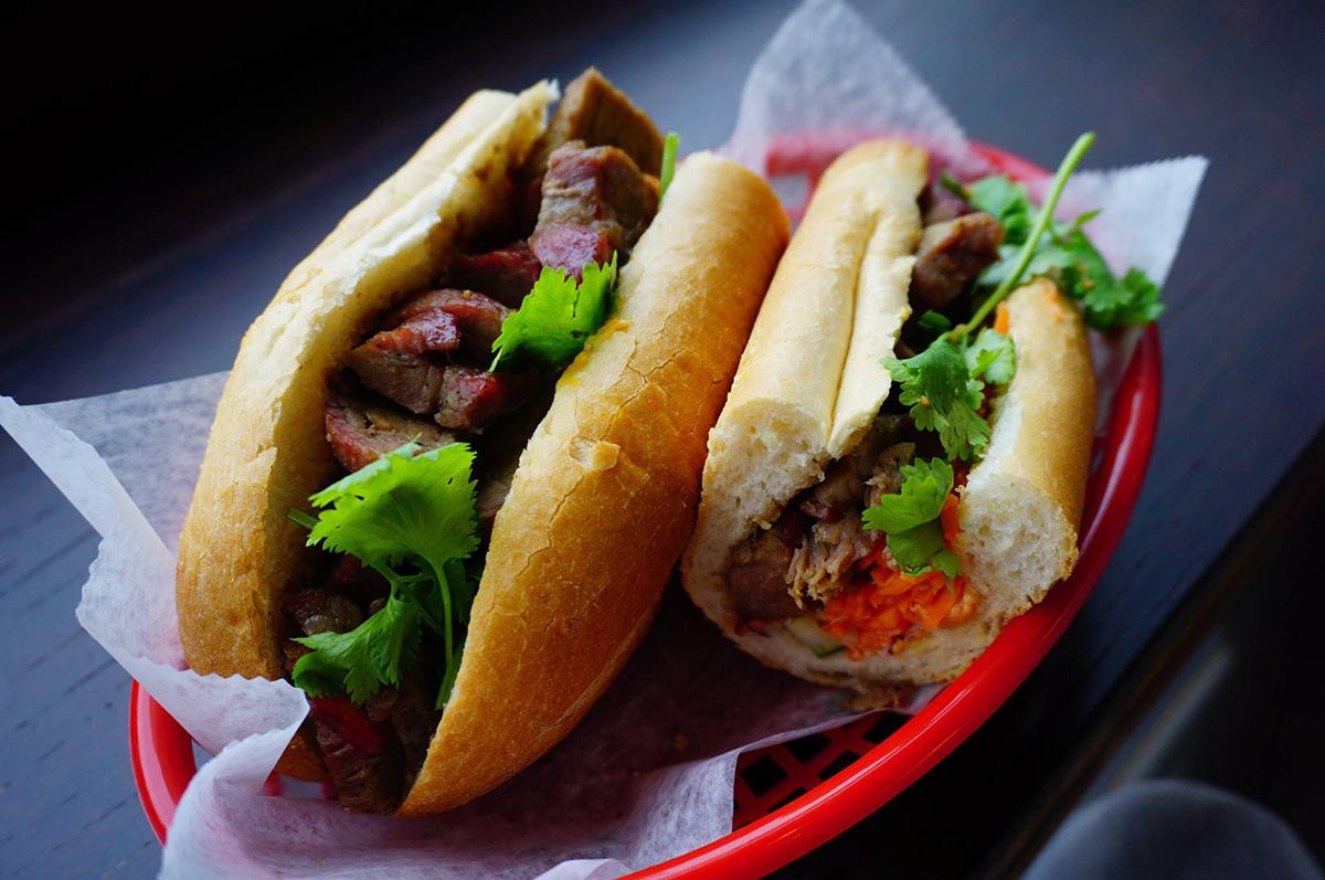 A banh mi sandwich from Bon Me