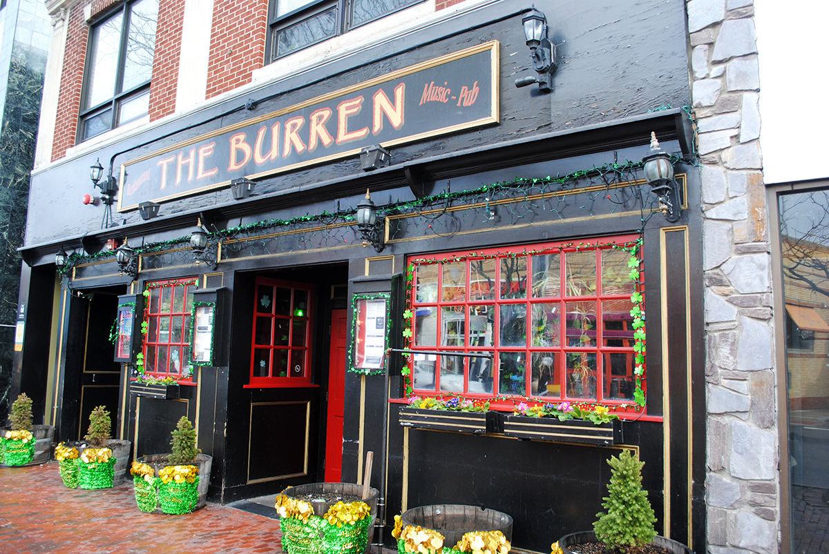 The Burren in Davis Square
