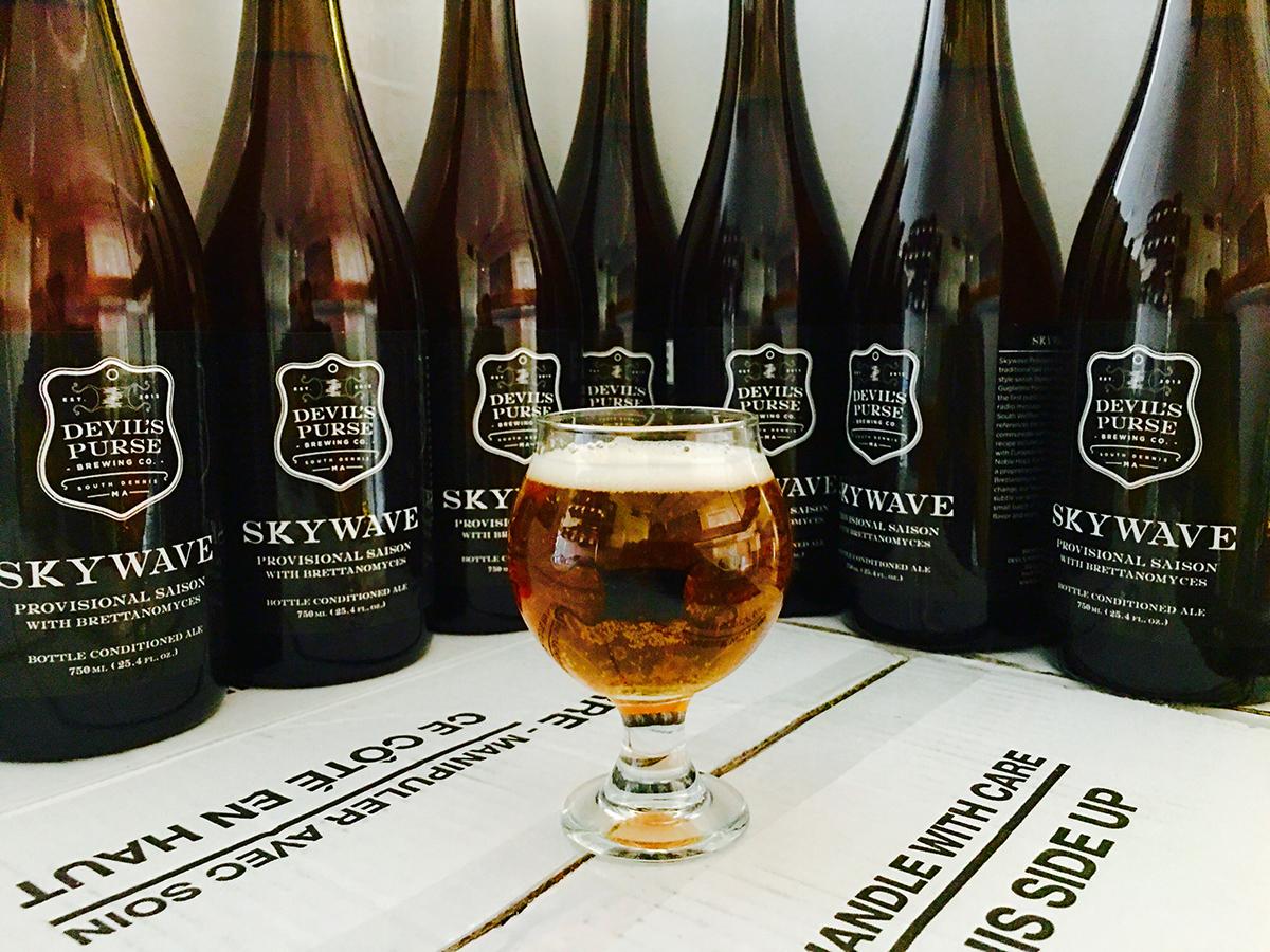 Devil's Purse Brewing Co. Skywave Provision Saison
