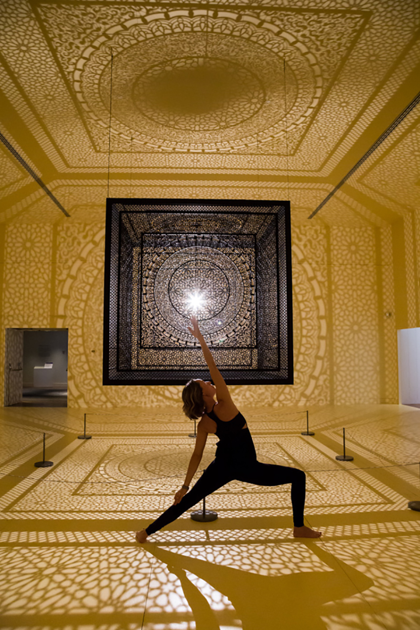 Intersections yoga classes at peabody essex museum