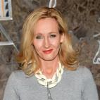 "FILE - In this April 9, 2015 file photo, ""Harry Potter"" author J.K. Rowling lights the Empire State Building to mark the launch of her non-profit children's organization Lumos, in New York. The ""Harry Potter"" author is launching a series called ""Magic in North America,"" a four-part backstory for this fall's film adaptation of the Potter prequel ""Fantastic Beasts and Where to Find Them."" Announced Monday, March 7, 2016, on Rowling's Web site, www.pottermore.com, ""Magic in North America"" will run in installments Tuesday-Friday on Pottermore. (Photo by Evan Agostini/Invision/AP, File)"