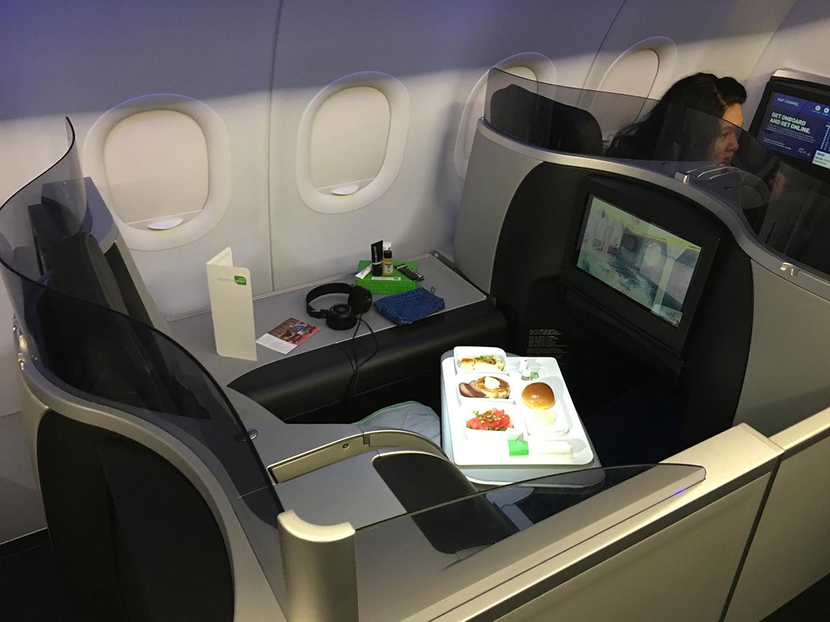 JetBlue's new Mint service. Photo by Garrett Quinn