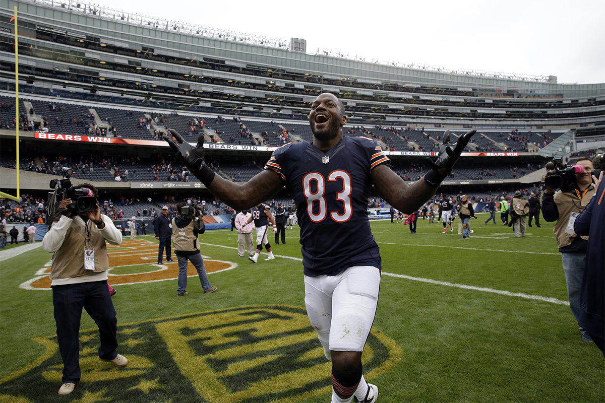 Image of Martellus Bennett via AP