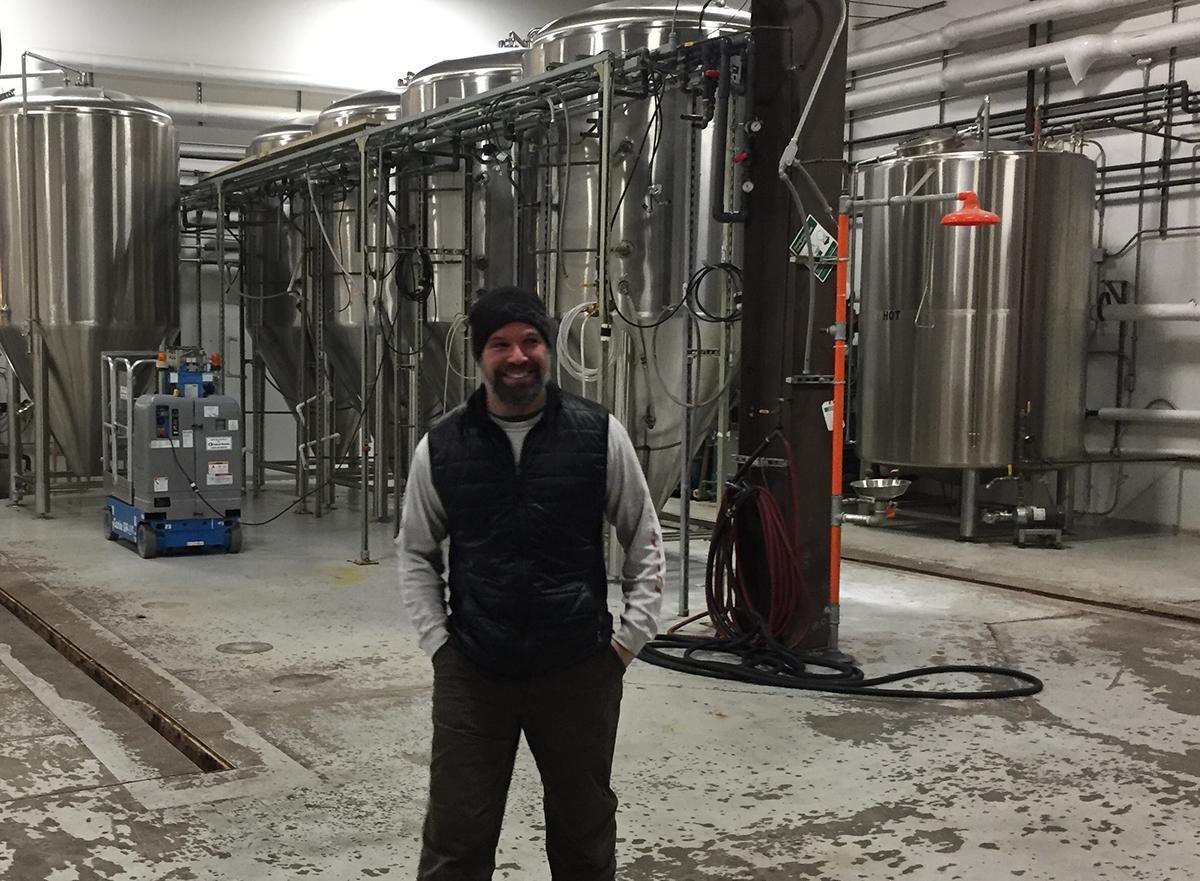Exhibit A Brewing Co. founder Matthew Steinberg