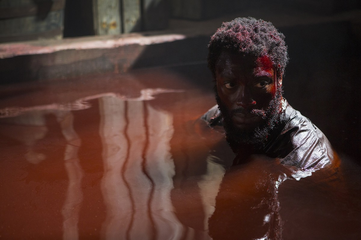 Aldis Hodge Photo by Sony Pictures Television