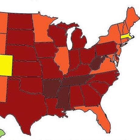 Obesity maps