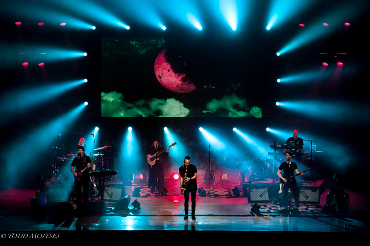 The Pink Floyd Experience performs on stage