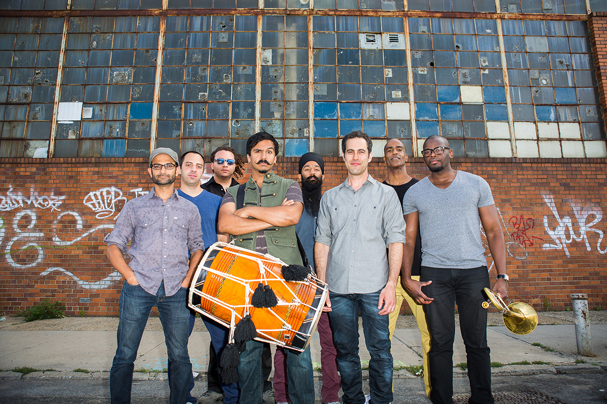 REd Baraat band
