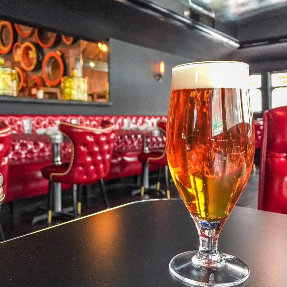 A beer at Rosebud American Kitchen & Bar