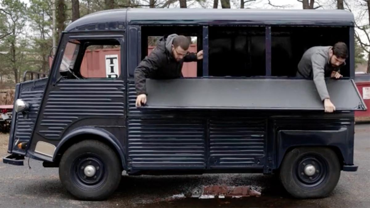 Somerville Coffee Crew Citroen H van