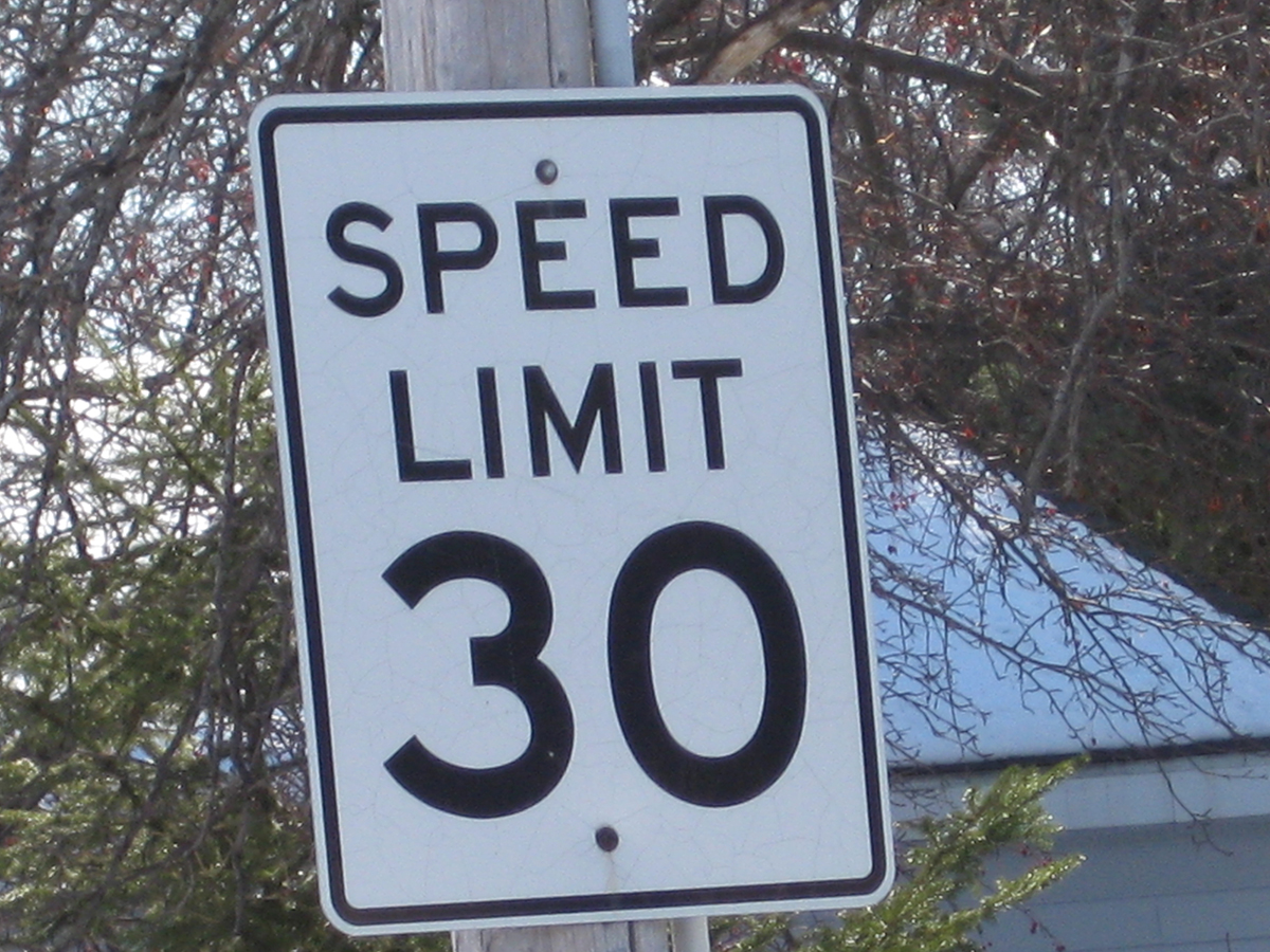 Speed Limit by Amber Kennedy via Flickr/Creative Commons