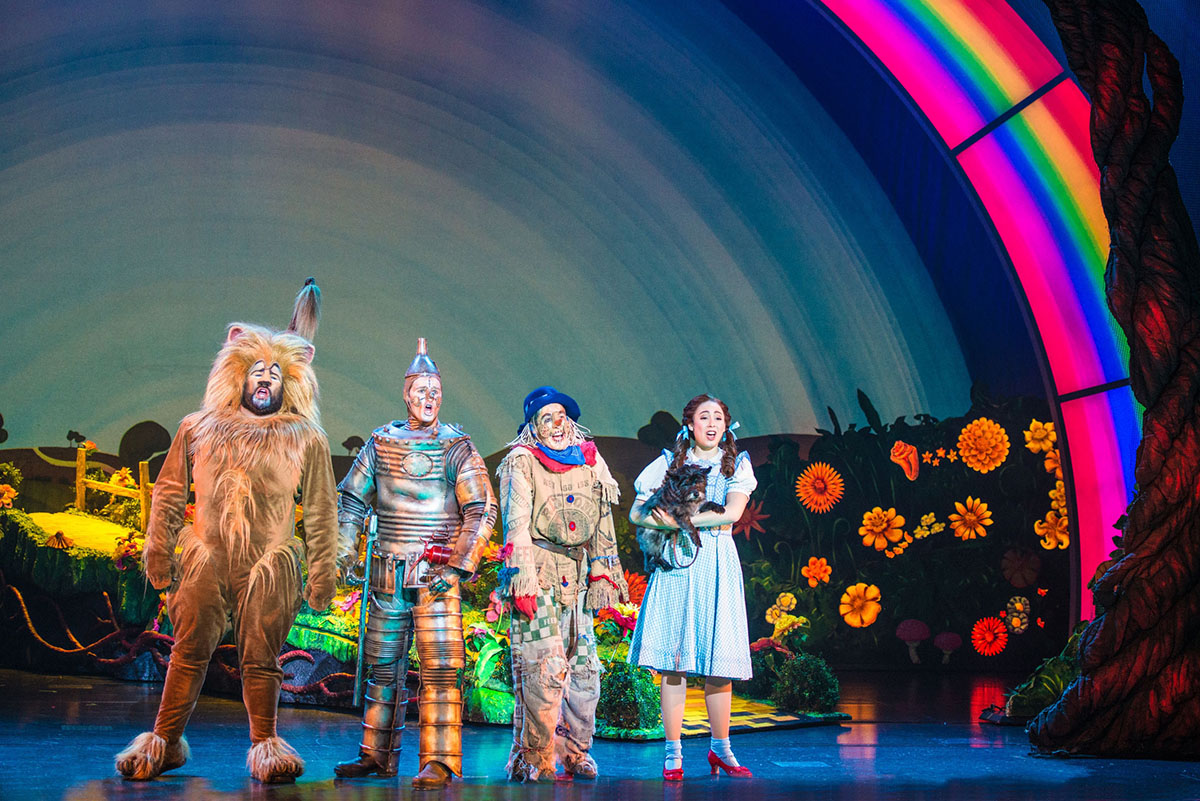 This new production of The Wizard of Oz is an enchanting adaptation of the all-time classic, totally reconceived for the stage. Developed from the ever popular MGM screenplay, this production contains the beloved songs from the Oscar® – winning movie score, all the favorite characters and iconic moments, plus a few surprises along the way, including new songs by Tim Rice and Andrew Lloyd Webber.