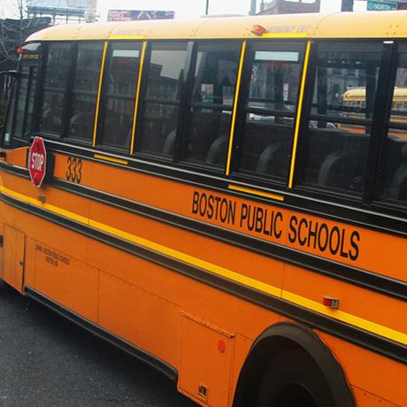 Boston Public Schools bus sq