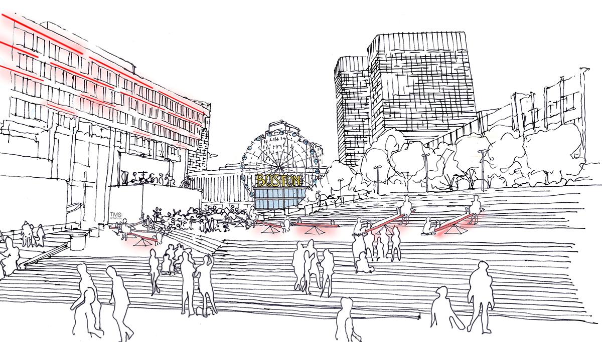 ferris wheel city hall