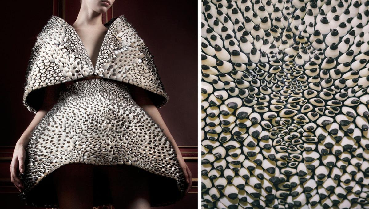 mfa #techstyle Anthozoa 3D Dress