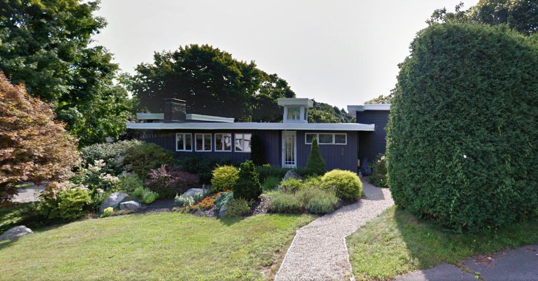 mid-century open house