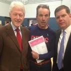 Bill Clinton election sq