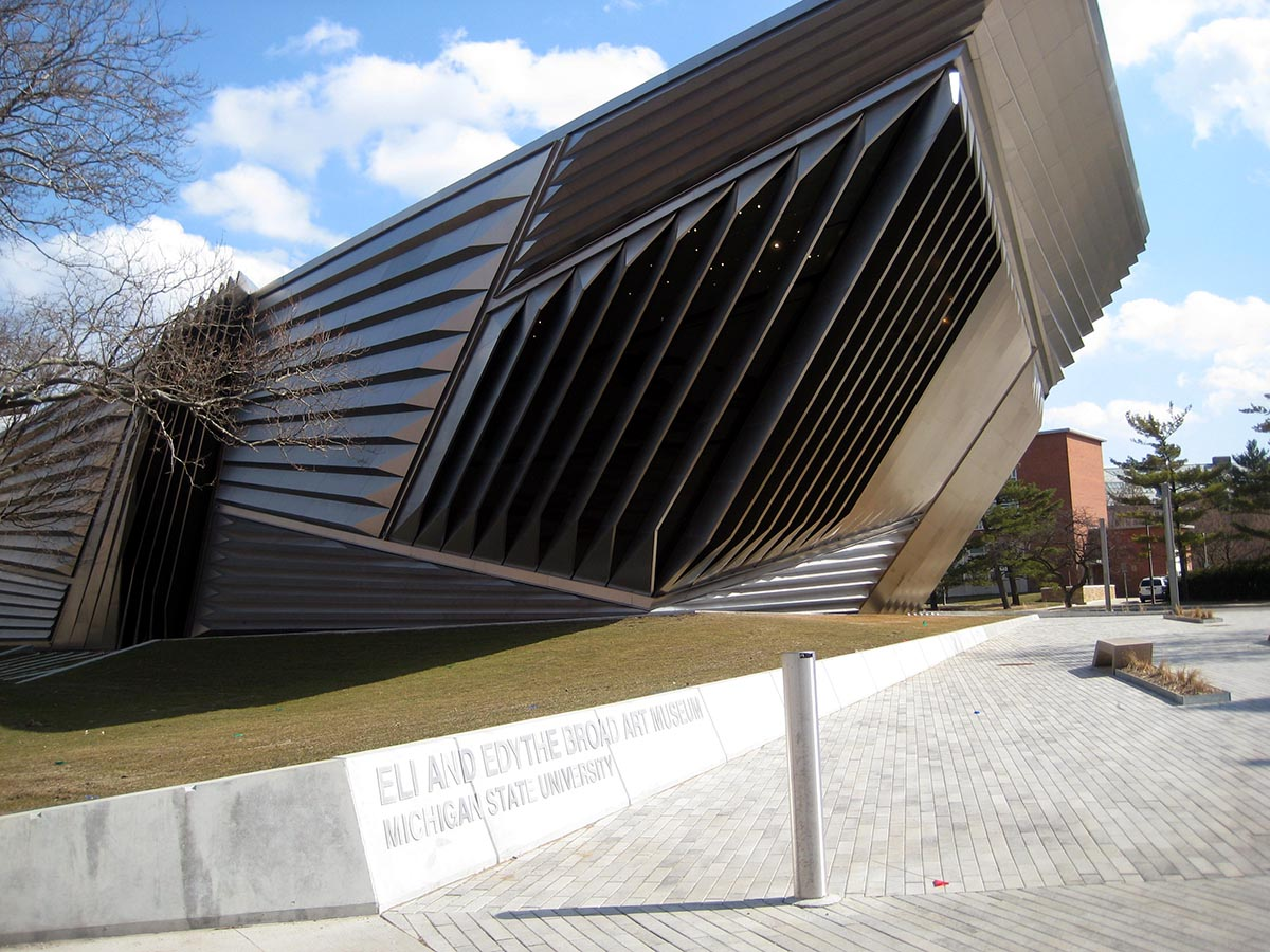 Eli and Edythe Broad Art Museum photo via Wikimedia/Creative Commons