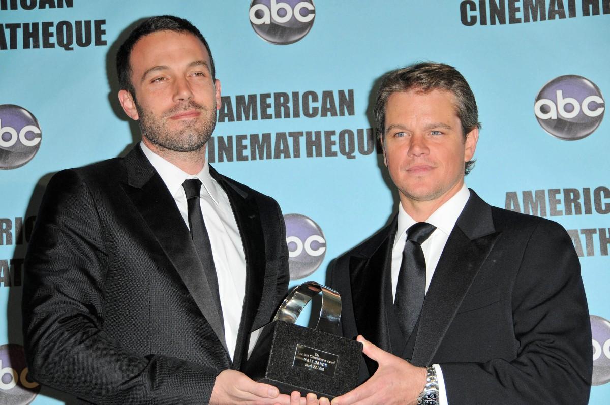 Ben Affleck and Matt Damon Photo by s_bukley / Shutterstock.com