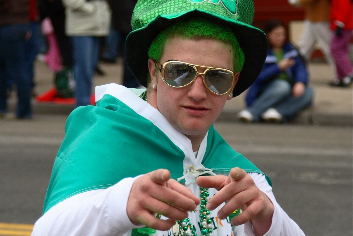 St. Patrick's Day parade in Boston Photo by Liviu Toader / Shutterstock.com