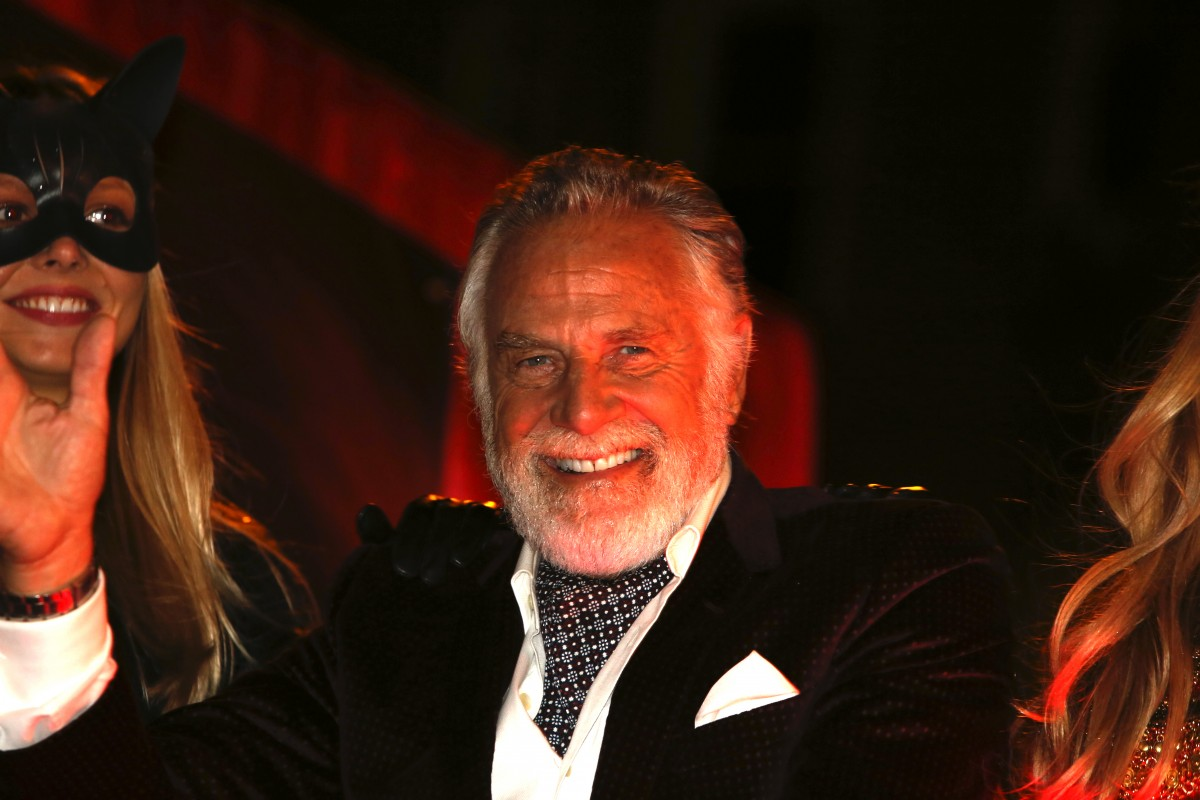 the most interesting man in the world leaves dos equis