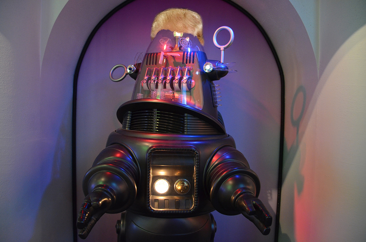 Robby the Robot Photo by Adam Fagen on Flickr/Creative Commons