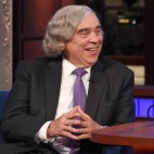 U.S. Secretary of Energy Dr. Ernest Moniz on The Late Show with Stephen Colbert, Tuesday Sept. 22, 2015 on the CBS Television Network. Photo: Jeffrey R. Staab/CBS ©2015 CBS Broadcasting Inc. All Rights Reserved