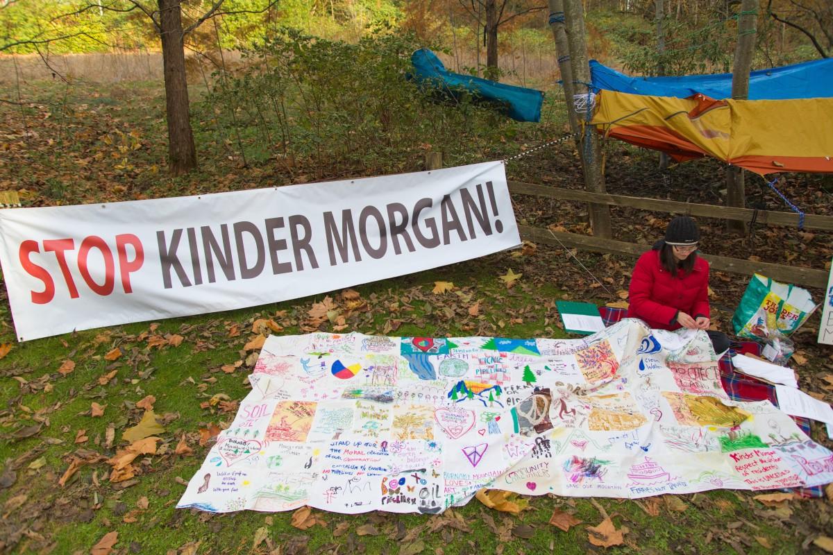 Kinder Morgan Rally in British Colombia, Canada Photo by Mark Klotz / Flickr via Creative Commons