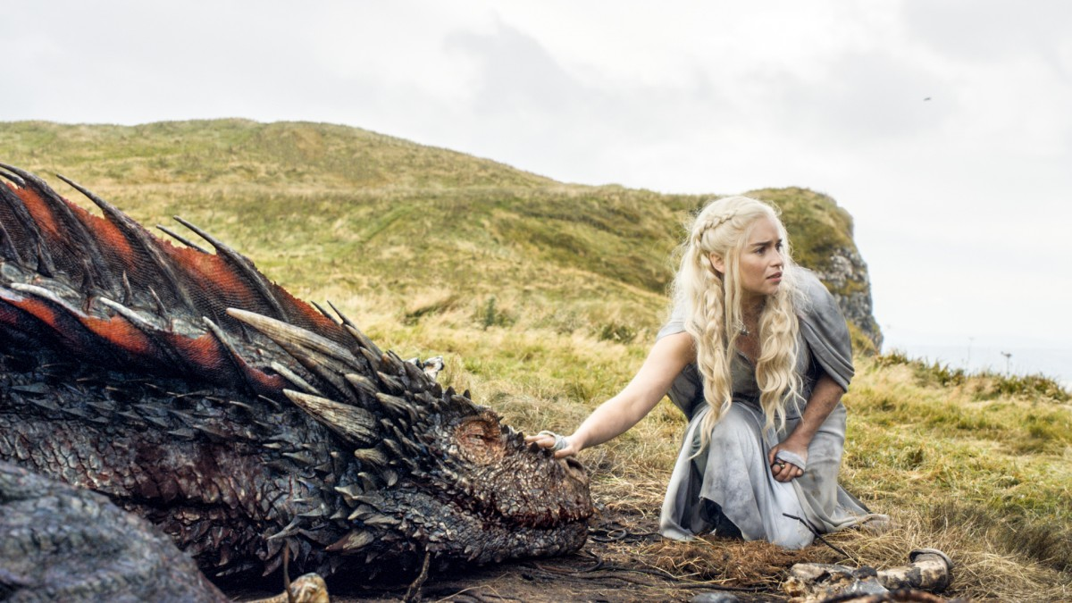 Emilia Clarke in 'Game of Thrones' Photo courtesy of HBO