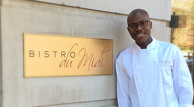 Bistro du Midi Executive Chef Josue Louis