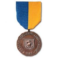 A marathon medal.