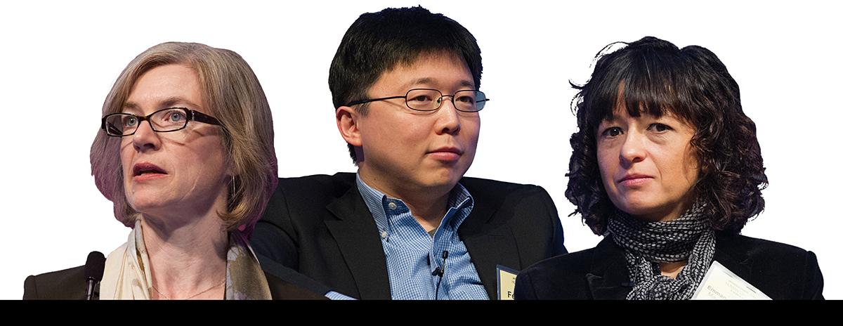 CRISPR-Cas9 Jennifer Doudna Feng Zhang Emmanuelle Charpentier