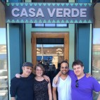 Casa Verde is (L to R) Co-Owner David Doyle, General Manager and Beer Director Bailey Lyon, Executive Chef Sean Callahan, and Co-Owner Keith Harmon