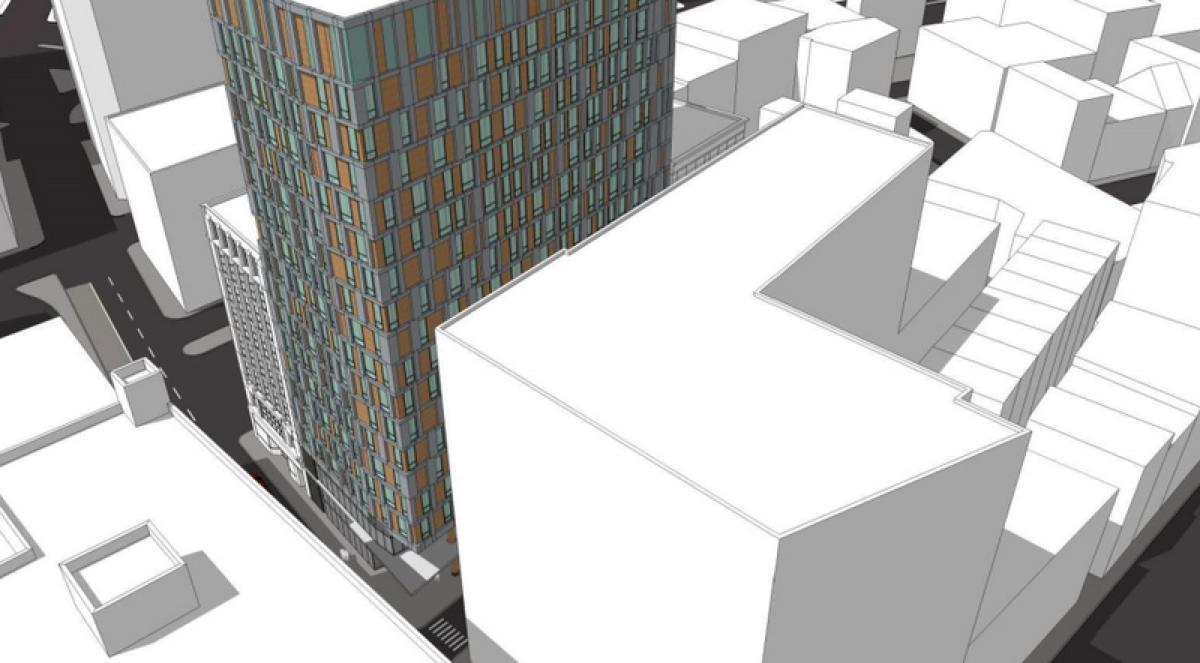 Rendering via Boston Redevelopment Authority