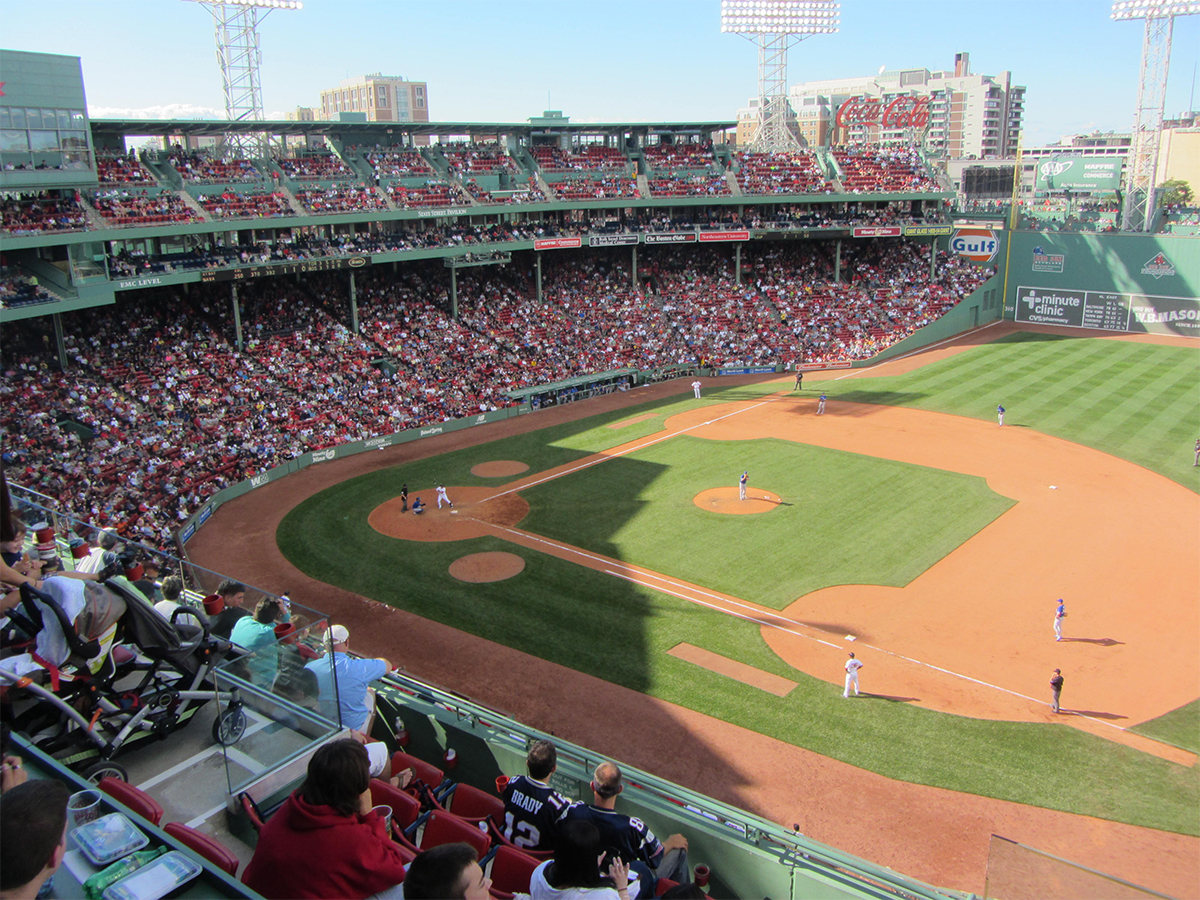 Fenway Park by David Wilson on Flickr/Creative Commons