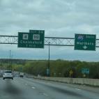 Highway exit numbers sq
