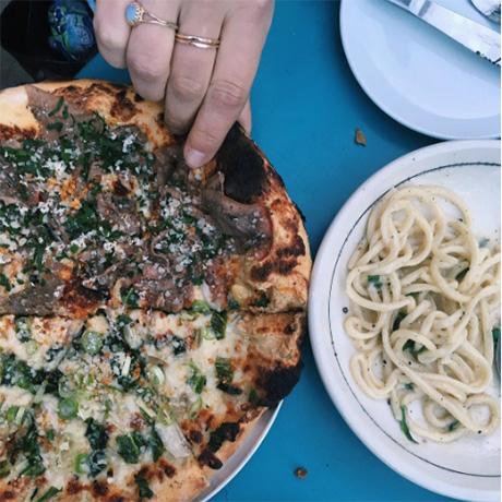 Coppa pizza