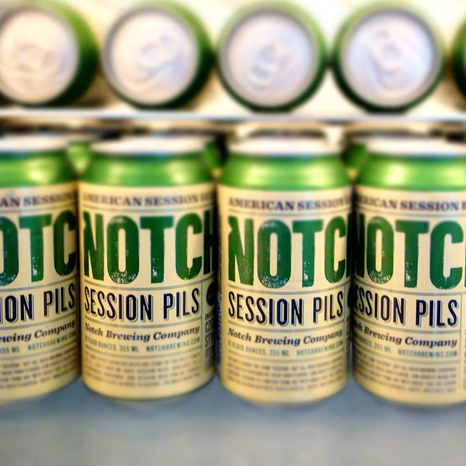 Cans of Notch Pils