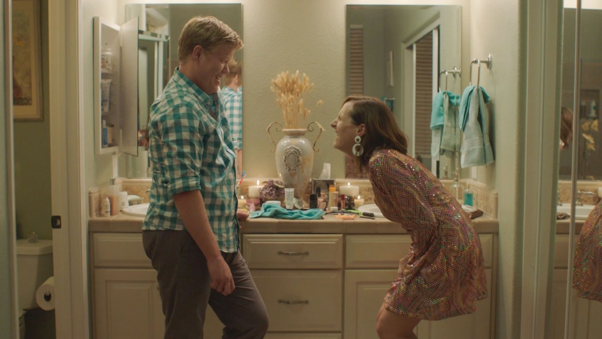 Jesse Plemons and Molly Shannon