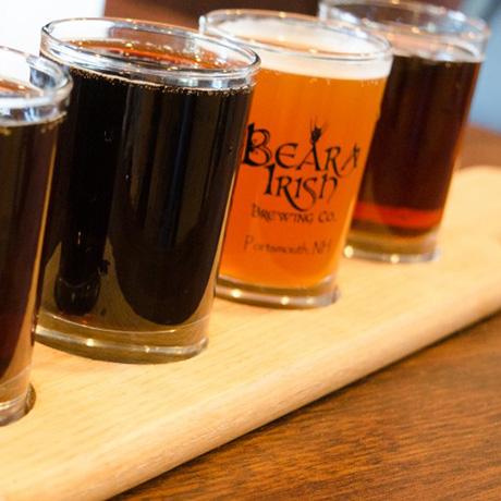 A beer flight at Beara Irish Brewing Co. / Photo by Allo Gilinsky