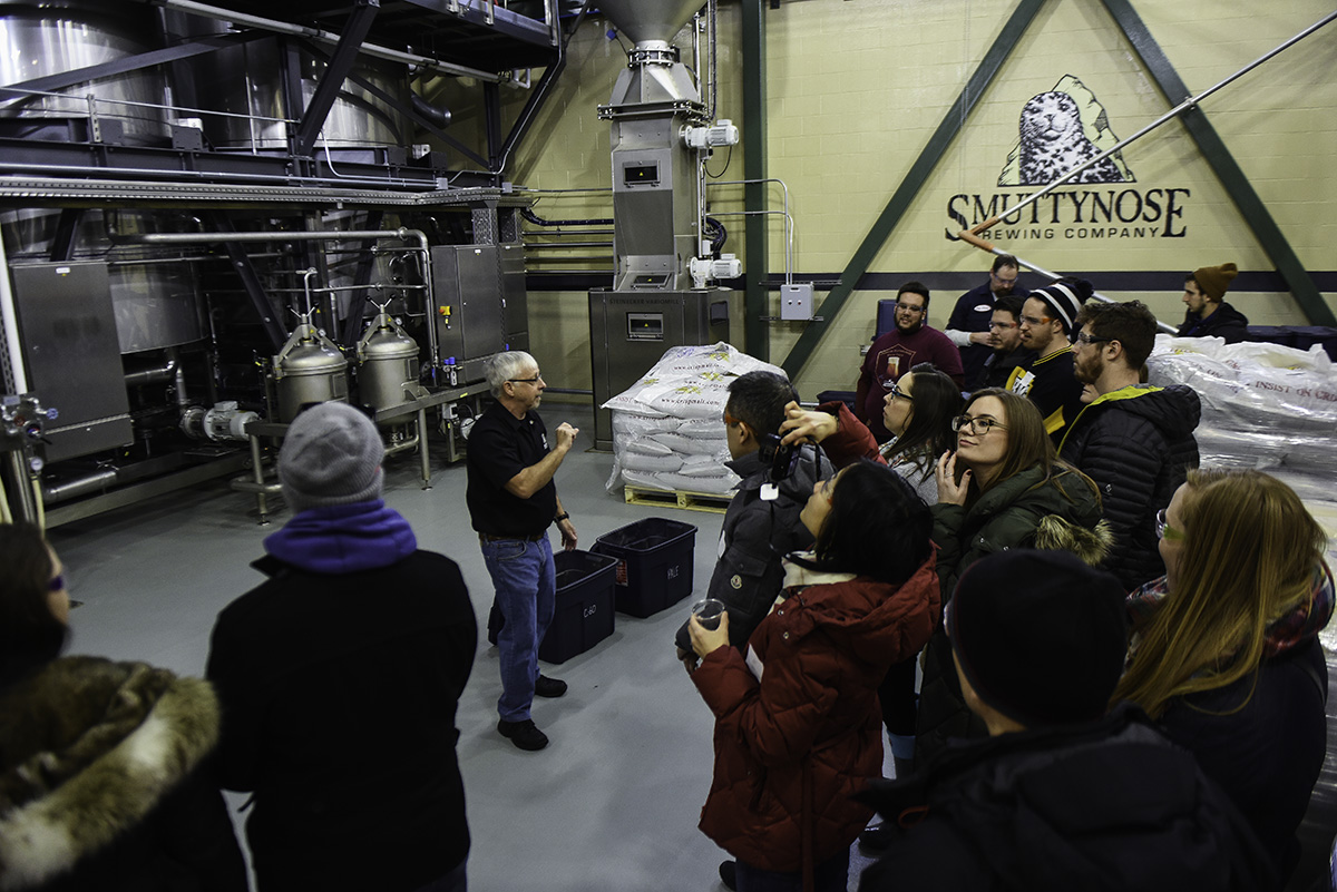 Pints of Portsmouth takes a tour of Smuttynose Brewing Company. / Photo by Mike Johnson, Fest Pics
